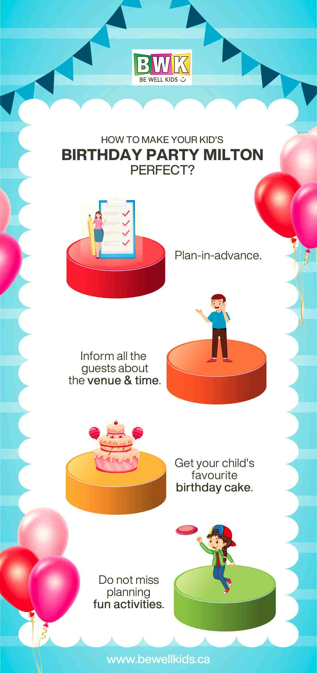 HOW TO MAKE YOUR KID'S BIRTHDAY PARTY MILTON PERFECT?